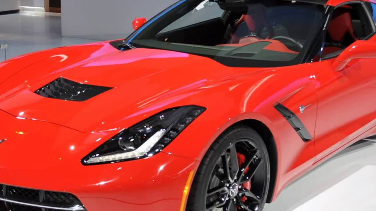 2017 Corvette Stingray All New Car