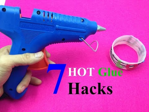 7 amazing things can be made with a hot glue gun - hot glue hacks