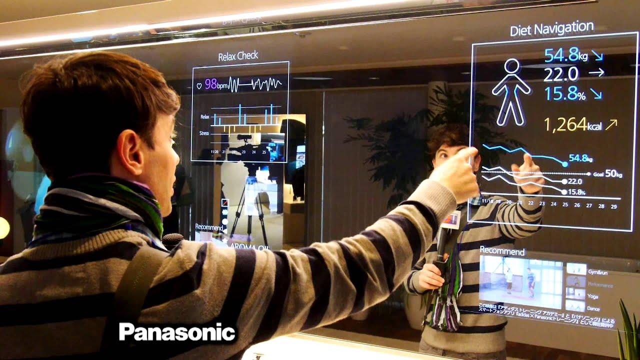 La casa del futuro cocina espejos y pantallas youtube - La domotica como solucion de futuro ...