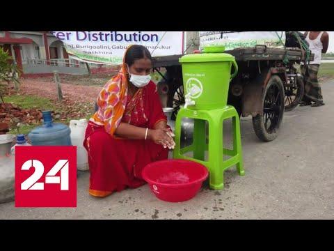 В Индии за трое суток коронавирусом заразились 100 тысяч человек - Россия 24