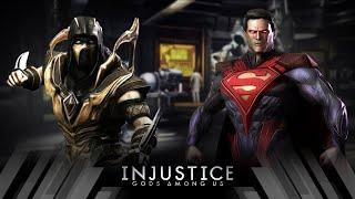 Injustice Gods Among Us - Scorpion Vs Superman (Very Hard)