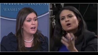"""""""YOU are the One that Publishes Classified Information!"""" Sarah Sanders DESTROYS NBC Reporter"""
