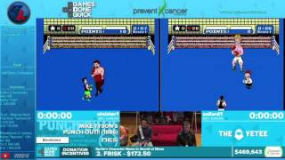 [GER] AGDQ 2016: Mike Tyson´s Punch Out Blindfolded Race von Sinister1 und Zallard1
