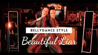 "Beyoncé & Shakira ""Beautiful Liar"" - Bellydance Style by Farida Damayanti & Andrea"