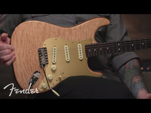 Josh Smith Plays The Quilt Maple Top Stratocaster I Rarities Collection I Fender