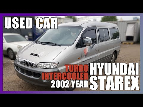 [Auto Usados Coche Carro USED CAR BUSY MAN] STAREX 2002year KMJWWH7HP2U 409306