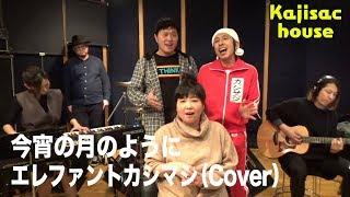 Kajisac house エレファントカシマシ/今宵の月のように(cover) アジアン馬場園さん加入!