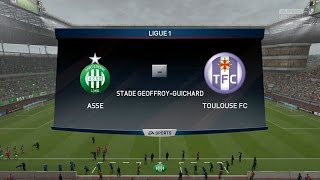 Video Gol Pertandingan Saint-Etienne vs Toulouse