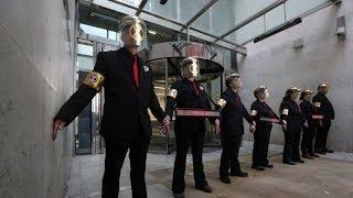 Climate activists block London Stock Exchange