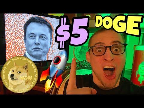 Dogecoin $5 Elon Musk 🚀