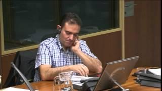 Hezkuntza Batzordea: EHIGE-Euskal Herriko Ikasleen Gurasoen Elkarteko presidentearen agerraldia