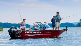 TRACKER Boats: 2016 Pro Guide V-175 Combo Deep V Aluminum Fishing Boat