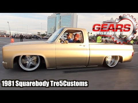 Tre 5 Customs 1981 Squarebody /Gears Wheels and Motors