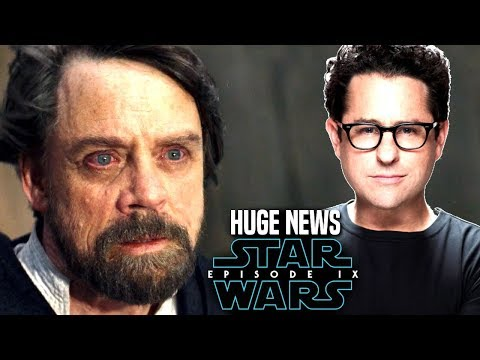 Star Wars Episode 9 JJ Abrams Changing Luke's Force Ghost! (Star Wars News)
