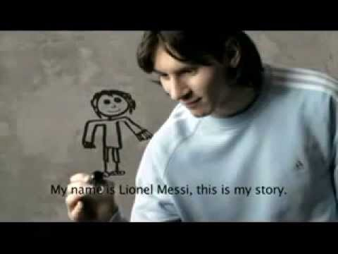 Impossible is nothing - Lionel Messi (adidas comercial ...
