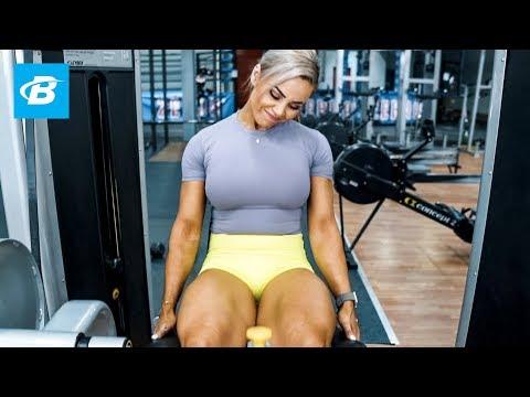 High Volume Lower Body Workout | Stephanie Sanzo, aka StephFitMum
