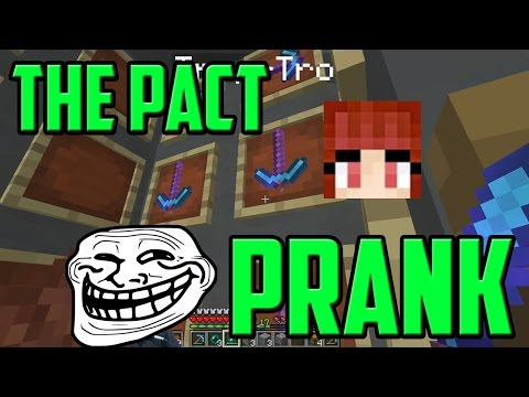 Minecraft The Pact - Prank Aethelthryth