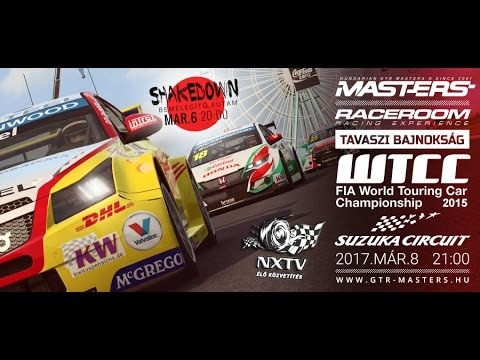 RaceRoom: GTR-Masters - Suzuka - Race Onboard