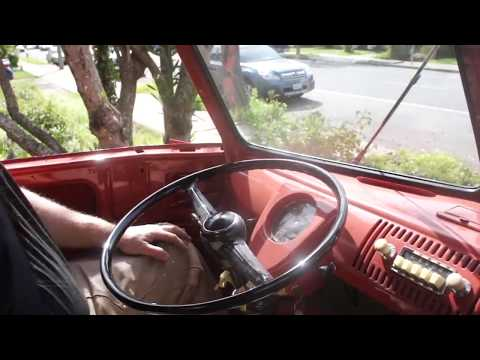 VW Bus Single Cab First Drive after Restoration