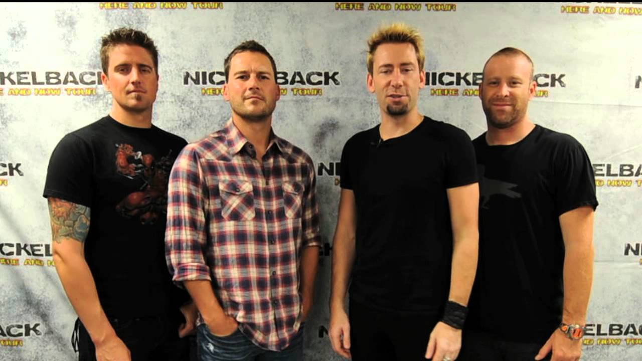 You could meet nickelback youtube you could meet nickelback m4hsunfo