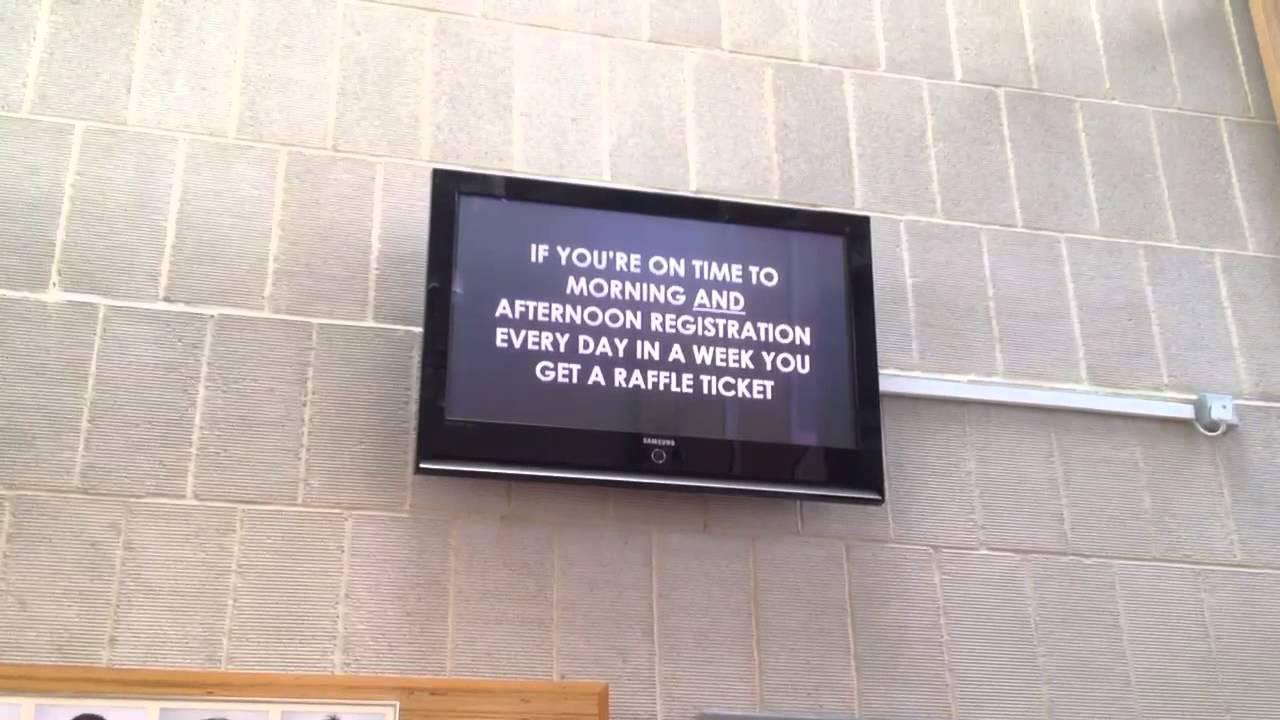 digital signage using xibo youtube