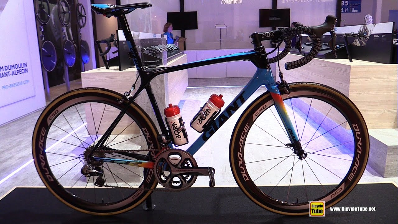 2016 Giant Tcr Team Giant Alpecin Tom Dumoulin Bike Shimano Stand Walkaround 2016 Eurobike Youtube