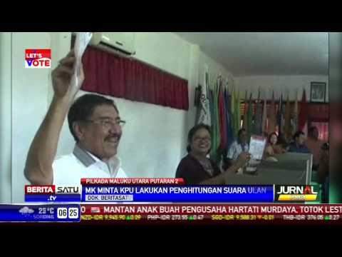 Pilkada Maluku Utara Diminta Lakukan Penghitungan Suara Ulang