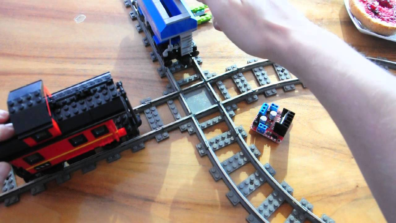 Arduino for lego trains controlled junctions youtube