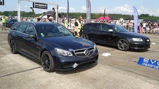 950HP Mercedes E63s AMG Estate vs Audi RS6 Avant C6