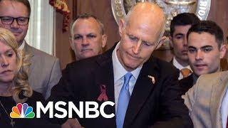 NRA Can't Scare Youths Demanding Gun Control   AM Joy   MSNBC