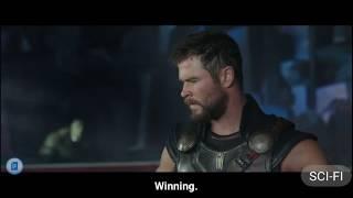 Thor- BIG GREEN STUPID! HULK- HULK  ALWAYS HULK ! How you make it here