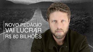 Pedágio no Paraná vai lucrar R$ 80 bilhões