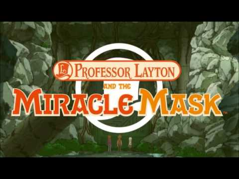 Professor Layton and the Miracle Mask OST - Puzzles Abound EXTENDED