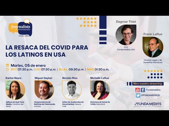 La resaca del COVID para los latinos en USA