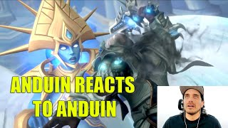 "Josh Keaton Voice of Anduin Reacts to ""Kingsmourne""  Shadowlands: Chains of Domination Trailer"