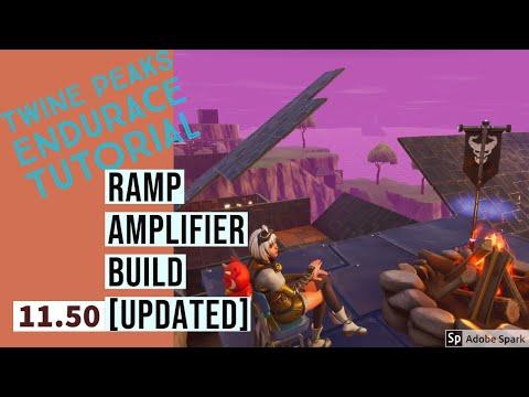 Twine Peaks Endurance | RAMP AMPLIFIER BUILD | Fortnite Save The World | [11.50 UPDATED]