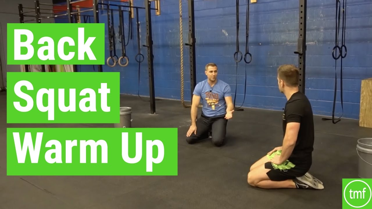 Full Back Squat Warm Up and Prep | The Movement Fix