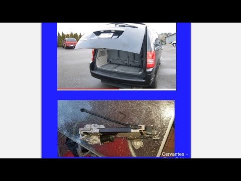 Town & Country Liftgate Doesn't Work (easy Fix)