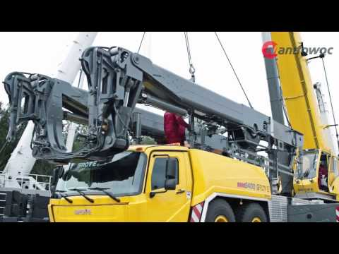 Grove GMK six-axle mobile cranes - Mega Wing Lift