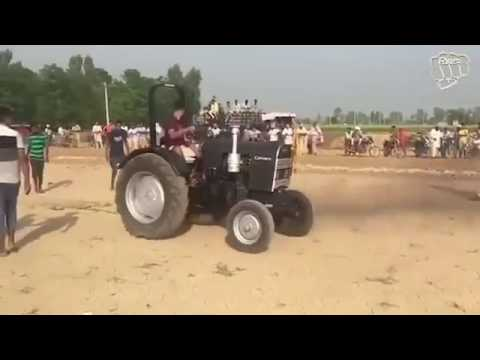 Kali camero stuts tractors stunts 2017