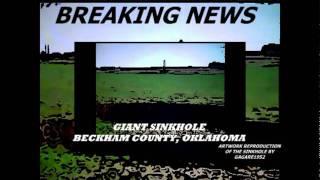 Giant Sinkhole Appears in Oklahoma