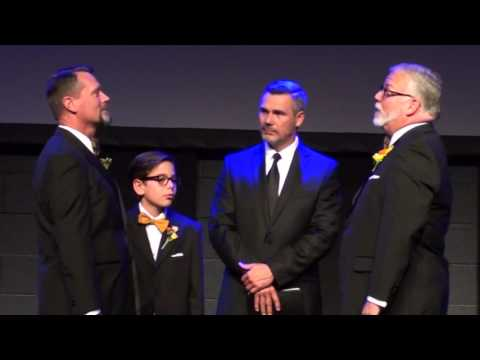 BUTCH WRIGHT AND KENNY HILL'S  MARRIAGE CEREMONY - 10-14-15