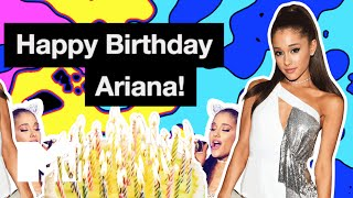 Happy Birthday, Ariana Grande! | Watch These Whistle Tone Wishes | MTV News