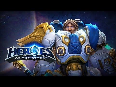♥ Heroes of the Storm (Gameplay) - Uther, The Noob-Friendly Build Test? (HoTs Quick Match)
