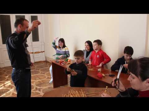 Майстер-клас від Володимира Мишолівського для «Екотабору «Країна мрій»