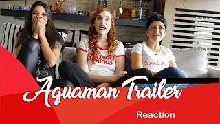Reaction Aquaman Trailer da SDCC