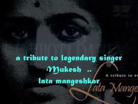 jaun kahan bata e dil..a tribute to mukesh -lata -chhoti bahen.