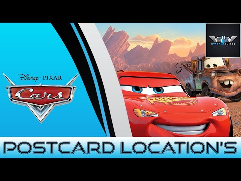 Cars Lizzie's Postcard Hunt Location's (HD)
