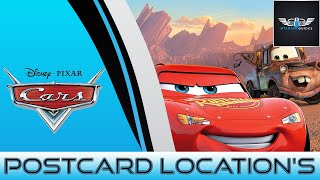 Cars Lizzie's Postcard Hunt Location's (HD)