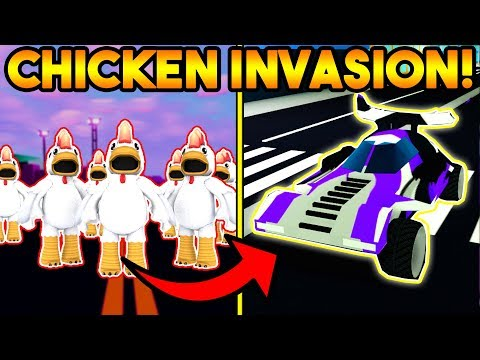 DEFEATING THE CHICKEN INVASION & UNLOCKING THE INVADER! | ROBLOX: Mad City (Season 4)